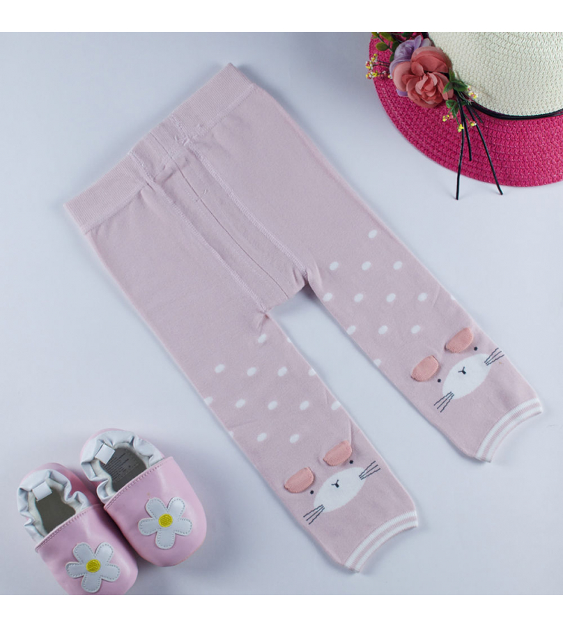 Catty Design Pink Stockings For Girls