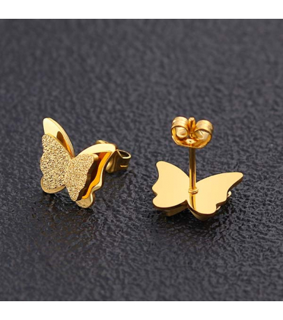 Butterfly Tiny Earrings