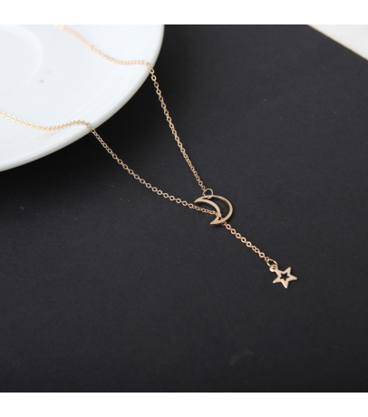 Luxury Star And Moon Necklace Pendant