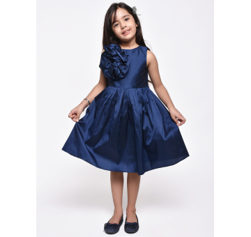 Jelly Jones Navy Flower Dress