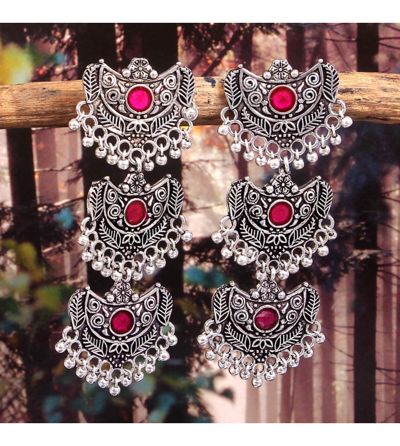 Handcrafted Alluring Trivia Earrings